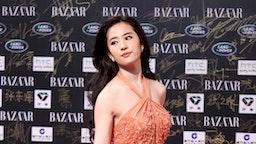 Chinese actress Liu Yifei attends the 2011 BAZAAR Charity Night at Park Hyatt Beijing Hotel on September 14, 2011 in Beijing, China.