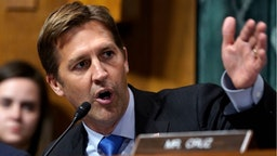 Sen. Ben Sasse, R-Neb., questions Supreme Court nominee Brett Kavanaugh as he testifies before the Senate Judiciary Committee on Capitol Hill on September 27, 2018 in Washington, DC.