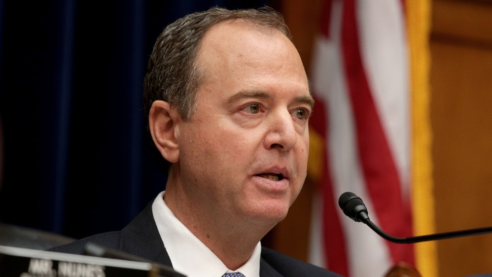 Committee chairman Rep. Adam Schiff (D-CA) delivers opening remarks at a hearing featuring Acting Director of National Intelligence Joseph Maguire testifying before the House Select Committee on Intelligence in the Rayburn House Office Building on Capitol Hill September 26, 2019 in Washington, DC.