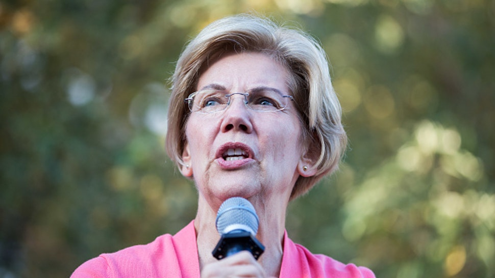 KEENE, NH - SEPTEMBER 25: Democratic presidential candidate Sen. Elizabeth Warren (D-MA) speaks during a Town Hall at Keene State College on September 25, 2019 in Keene, New Hampshire. Warren's candidacy has been surging recently, with some polls showing her leading or virtually tied with Joe Biden at the top of the Democratic field.