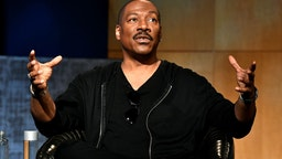Eddie Murphy speaks onstage during the LA Tastemaker event for Comedians in Cars at The Paley Center for Media on July 17, 2019 in Beverly Hills City.