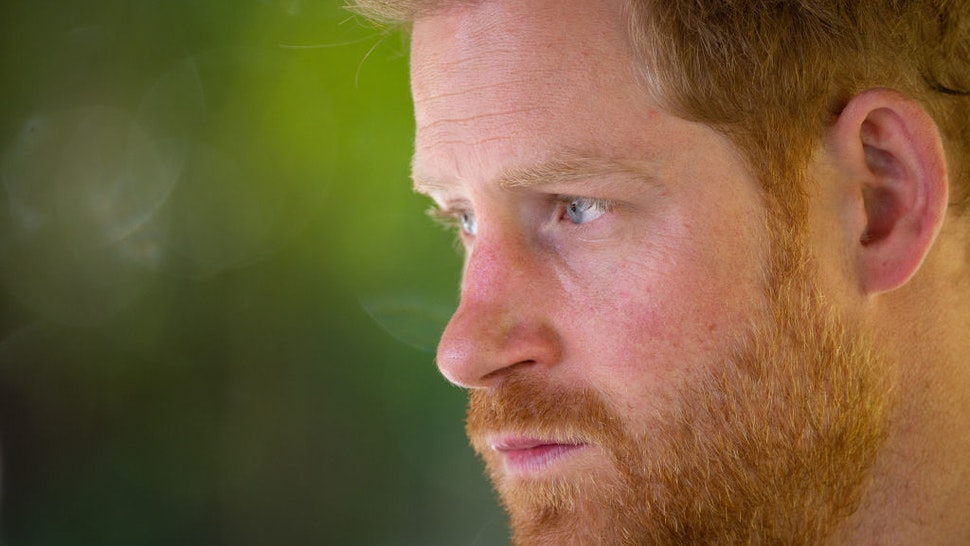 Prince Harry, Duke of Sussex joins a Botswana Defence Force anti-poaching patrol on the Chobe river on day four of the royal tour of Africa on September 26, 2019 in Kasane, Botswana.