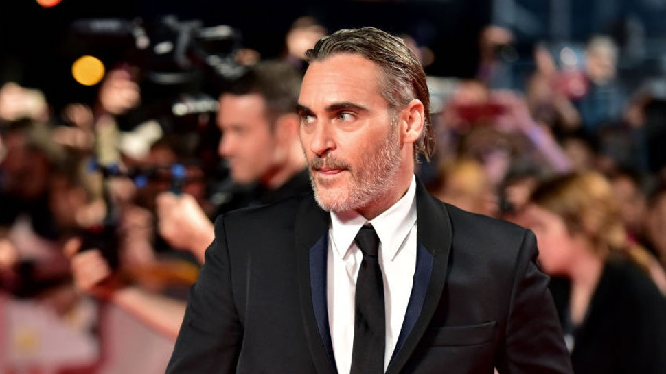 """Joaquin Phoenix attends the """"Joker"""" premiere during the 2019 Toronto International Film Festival at Roy Thomson Hall on September 09, 2019 in Toronto, Canada."""