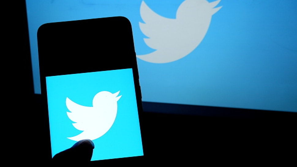 KOLKATA, INDIA - 2019/07/20: In this photo illustration a popular micro blogging and social networking service Twitter logo seen displayed on a smartphone. (