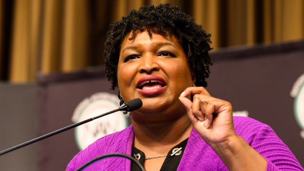 Stacey Abrams at the National Action Network (NAN) convention