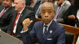Rev. Al Sharpton testifies before the House Judiciary Committee on policing practices in the United States on September 19, 2019 in Washington, DC.