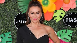 Actress Alyssa Milano attends the Lifetime's Summer Luau at the W Los Angeles - Westwood on May 20, 2019 in Los Angeles, California.