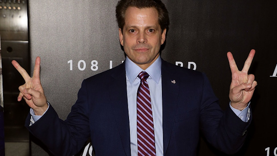 Anthony Scaramucci attends the 2018 The Hollywood Reporter's 35 Most Powerful People In Media at The Pool on April 12, 2018 in New York City.