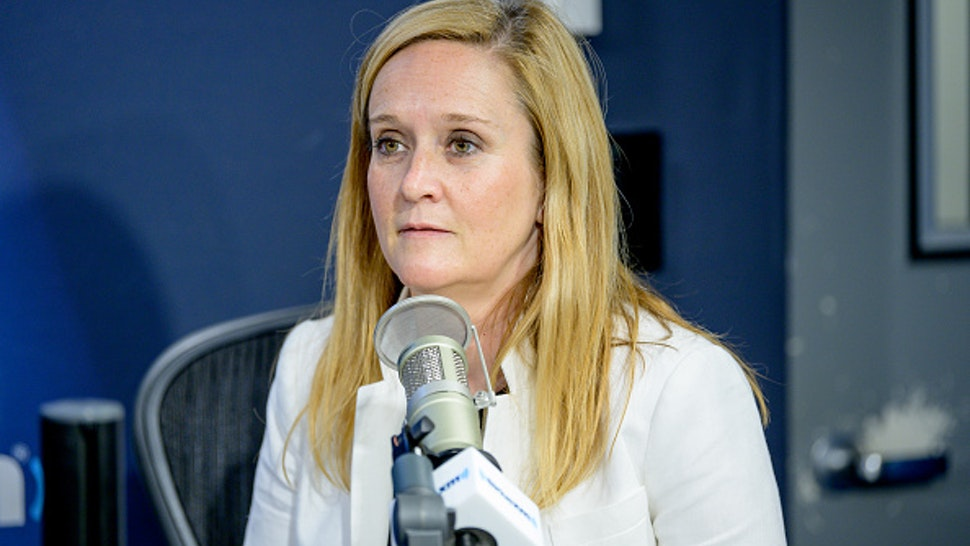Comedian Samantha Bee visits SiriusXM Studios on June 17, 2019 in New York City.