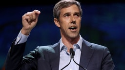 SAN FRANCISCO, CALIFORNIA - JUNE 1: Democratic presidential candidate and former U.S. Rep. Beto O'Rourke speaks during Day 2 of the California Democratic Party Convention at the Moscone Convention Center in San Francisco, Calif., on Saturday, June 1, 2019. (Photo by Ray Chavez/MediaNews Group/The Mercury News via Getty Images)