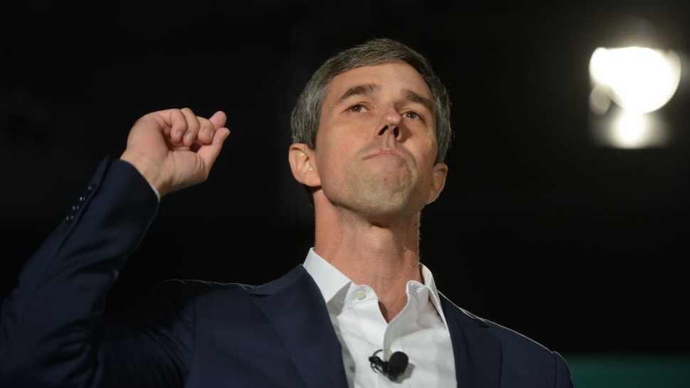 Beto O'Rourke, former Representative from Texas and 2020 Democratic presidential candidate, speaks during the American Federation of State, County & Municipal Employees (AFSCME) Public Service Forum in Las Vegas, Nevada, U.S., on Saturday, Aug. 3, 2019.