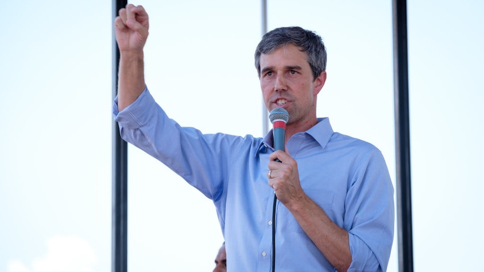 Beto O'Rourke speaks during an El Paso Strong Community Action event in El Paso, Texas,