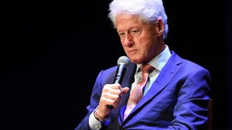 A Conversation With President Bill Clinton ATLANTA, GA - JUNE 13: