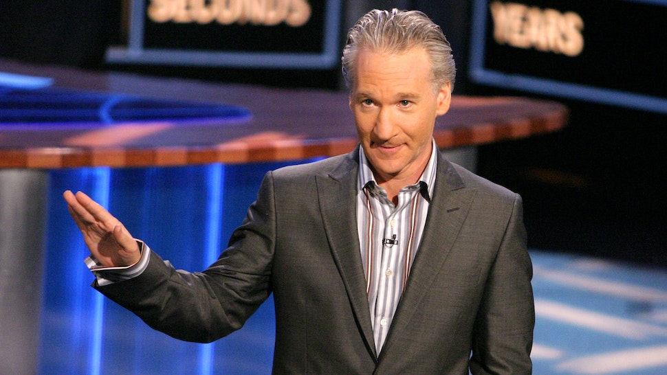 Bill Maher during HBO's Real Time With Bill Maher with Special Guest Governor Gray Davis at CBS Studios in Hollywood, California, United States.