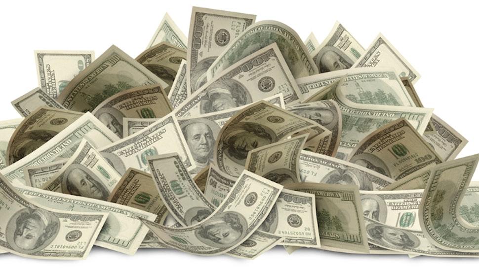 Large Pile Of Money