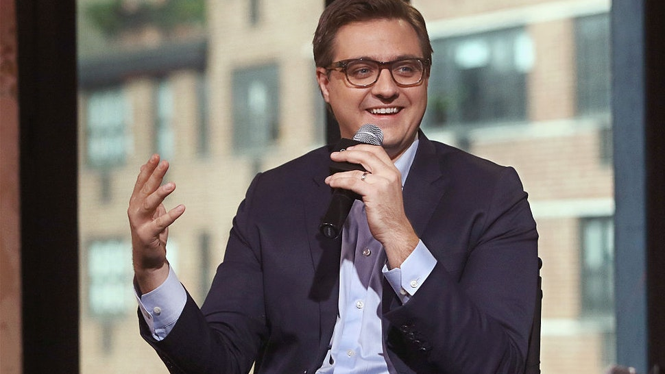 Christopher Hayes attends The Build Series at AOL HQ