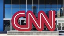 DOWNTOWN, ATLANTA, GEORGIA, UNITED STATES - 2015/11/14: CNN World Headquarters. (