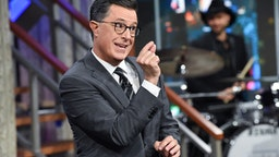 The Late Show with Stephen Colbert during Thursday's September 13, 2019 show