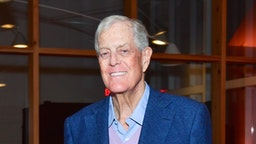 David Koch attends 13th Annual Prostate Cancer Foundation's Gala in the Hamptons with a Special Performance by Kool & The Gang at Parrish Art Museum on August 26, 2017 in Water Mill, New York.