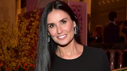 Demi Moore attends The Women's Cancer Research Fund's An Unforgettable Evening Benefit Gala at the Beverly Wilshire Four Seasons Hotel on February 28, 2019 in Beverly Hills, California.