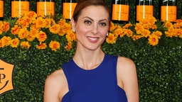 Actress Eva Amurri attends the Sixth-Annual Veuve Clicquot Polo Classic at Will Rogers State Historic Park on October 17, 2015 in Pacific Palisades, California.