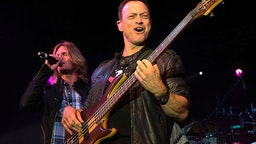 """Gary Sinise Performing In """"The Lt. Dan Band"""""""