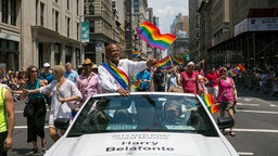 Gay Pride Parade NYC 2013.