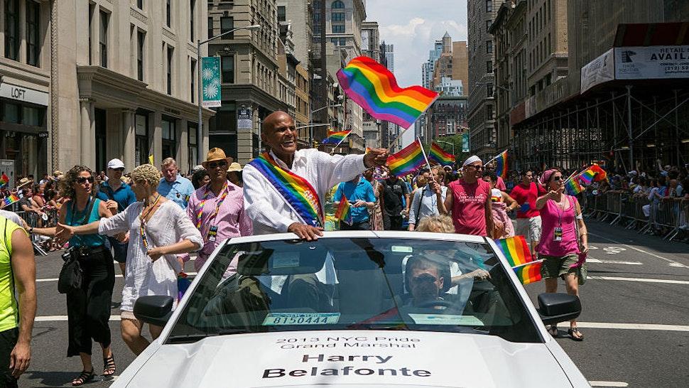 Gay Pride Parade NYC 2013.