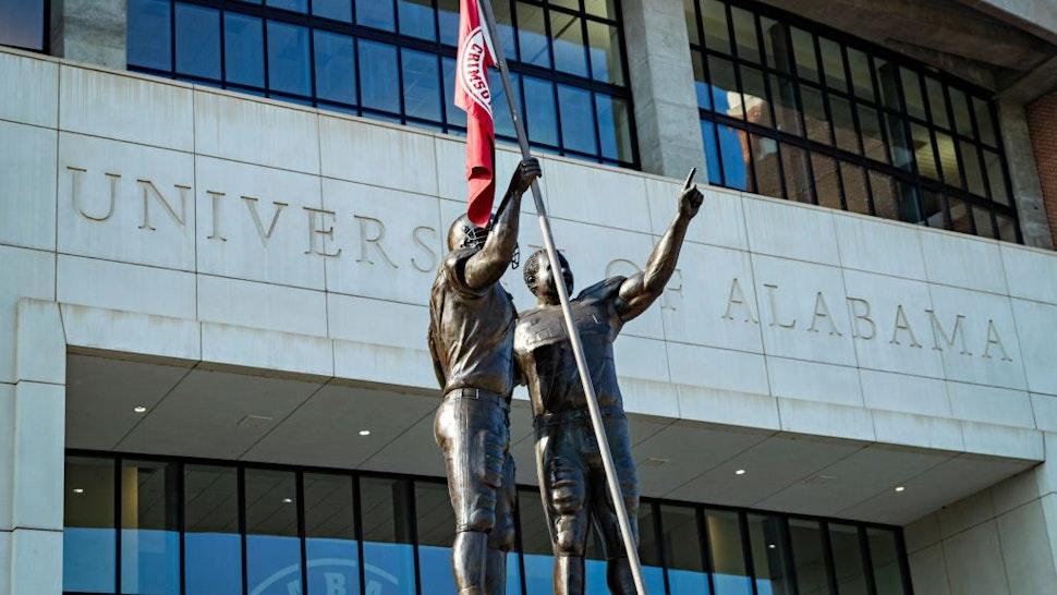 Statue At University Alabama