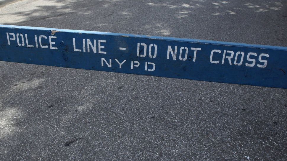 NYPD Do Not Cross Line