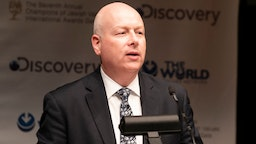 CARNEGIE HALL, NEW YORK, UNITED STATES - 2019/03/28: White House adviser on Israel Jason Greenblatt speaks during 7th Annual Champions of Jewish Values Gala at Carnegie Hall.