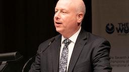 CARNEGIE HALL, NEW YORK, UNITED STATES - 2019/03/28: White House adviser on Israel Jason Greenblatt speaks during 7th Annual Champions of Jewish Values Gala at Carnegie Hall. (