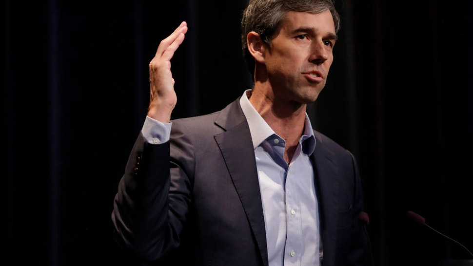 ALTOONA, IA - AUGUST 21: Democratic presidential candidate and former Rep. for Texas Beto O'Rourke speaks at the Iowa Federation Labor Convention on August 21, 2019 in Altoona, Iowa. Candidates had 10 minutes each to address union members during the convention. The 2020 Democratic presidential Iowa caucuses will take place on Monday, February 3, 2020.(