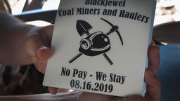 Blackjewel coal miner protest