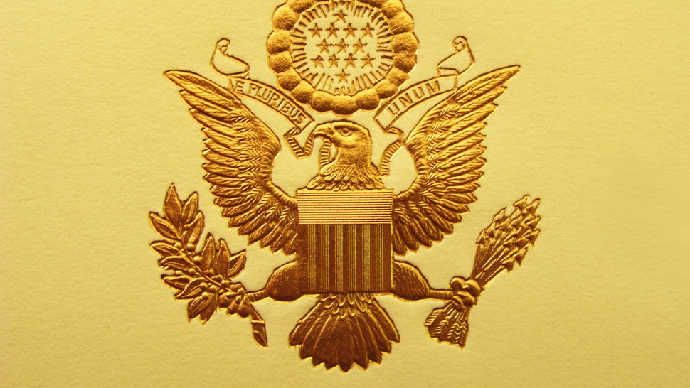 The Seal of the President of the United States is used to mark correspondence from the U.S. president to the United States Congress, and is also used as a symbol of the presidency.