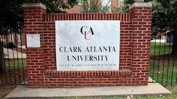 ATLANTA - JULY 18: Clark Atlanta University (founded in 1988) on July 18, 2015 in Atlanta, Georgia.