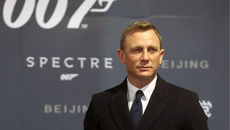 BEIJING, CHINA - NOVEMBER 12: (CHINA OUT) Actor Daniel Craig attends 'Spectre' premiere at The Place on November 12, 2015 in Beijing, China.