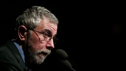 "Lecture by Nobel Prize winner economist Paul Krugman in Athens on ""Europe: What next?È, Invited by the Research Institute of Policy and Strategy for Development and Governance (ADGI-INERPOST) An event of Megaron Plus. On Friday, April 17, 2015"