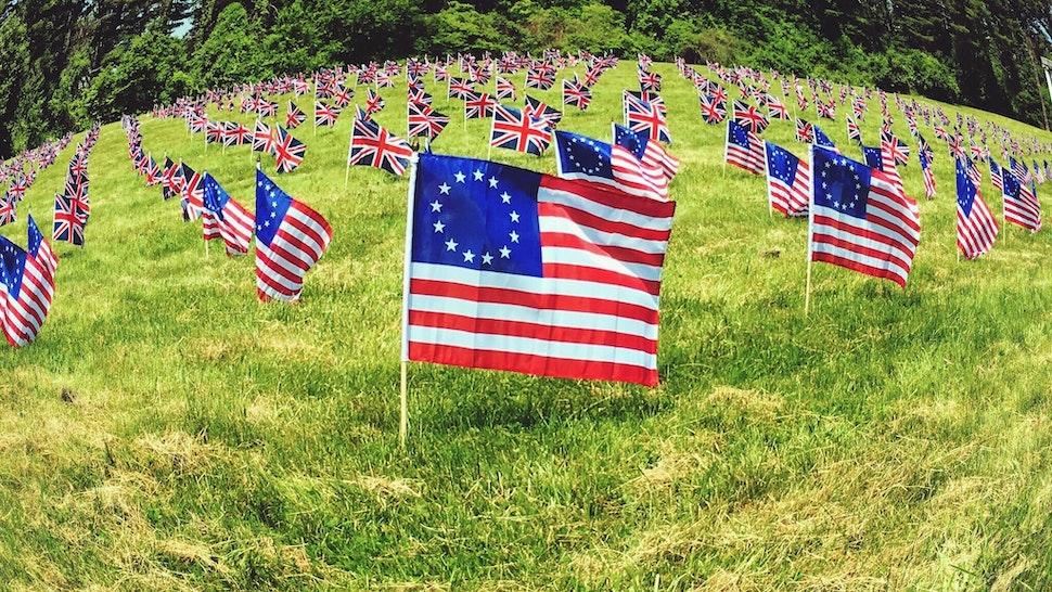 Betsy Ross flag.