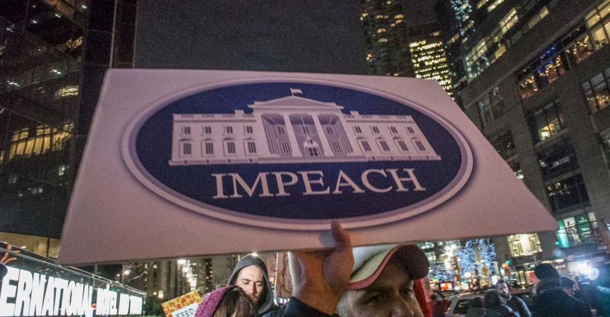 Leftists Throw An 'Impeach Trump' Event. No One Shows Up.