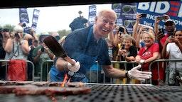 Joe Biden at the Iowa Steak Fry