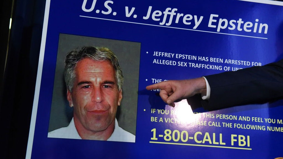 US Attorney for the Southern District of New York Geoffrey Berman announces charges against Jeffery Epstein on July 8, 2019 in New York City.