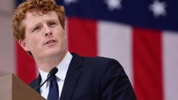 Joe Kennedy III speaks during a Remembrance and Celebration of the Life & Enduring Legacy of Robert F. Kennedy