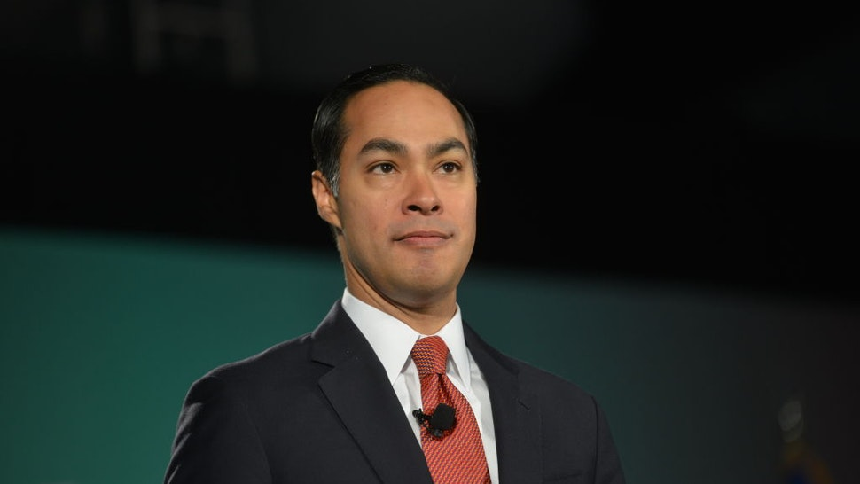 Julian Castro during the American Federation of State, County & Municipal Employees (AFSCME) Public Service Forum