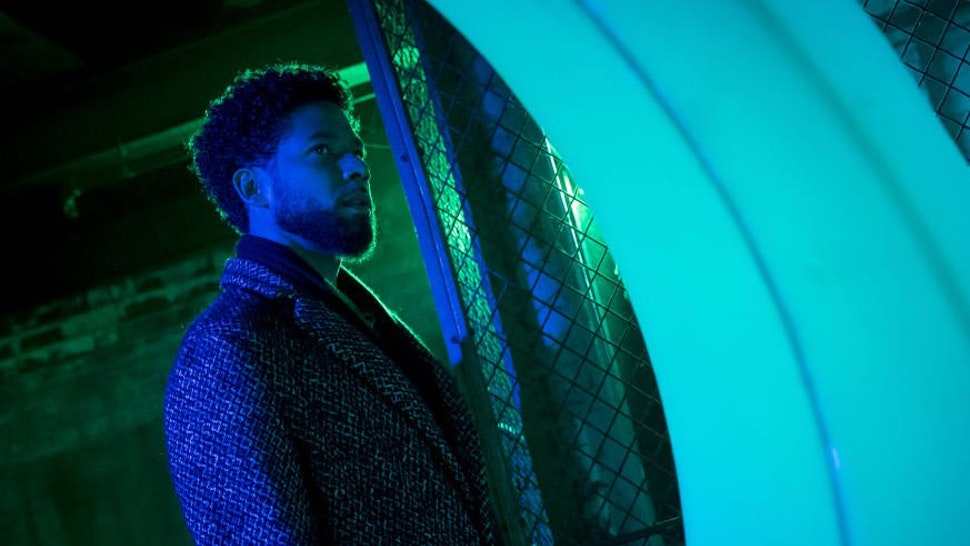 "Jussie Smollett in the ""False Face"" episode of EMPIRE airing Wednesday, April 25."