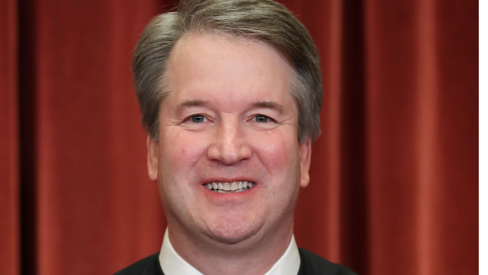 United States Supreme Court Associate Justice Brett Kavanaugh poses for the court's official portrait in the East Conference Room at the Supreme Court building November 30, 2018 in Washington, DC.