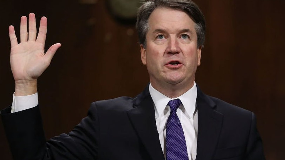 Kavanaugh During His Confirmation Hearing