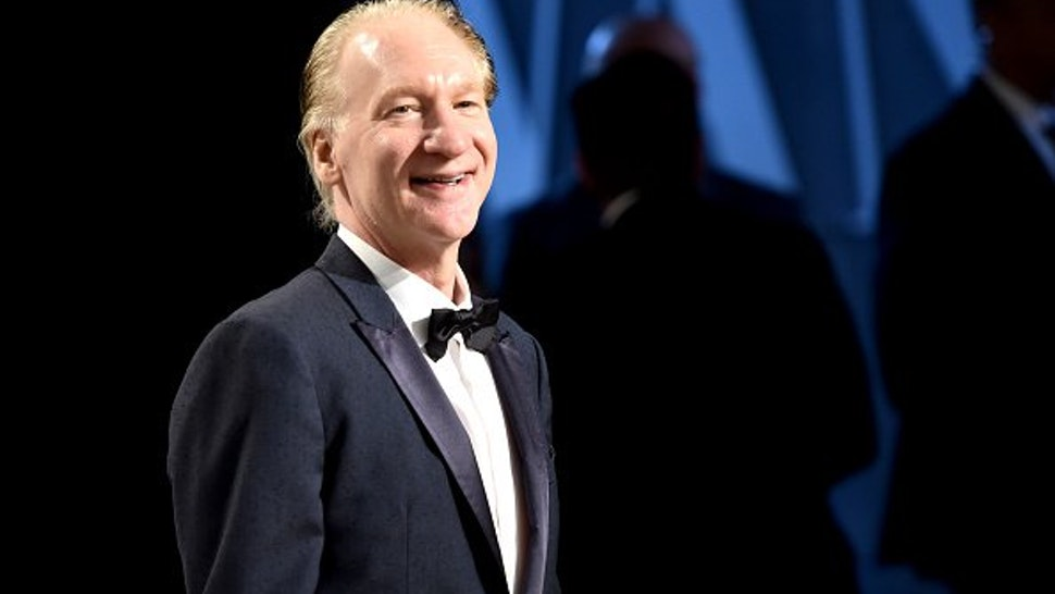 Television personality Bill Maher attends the 2017 Vanity Fair Oscar Party hosted by Graydon Carter at Wallis Annenberg Center for the Performing Arts on February 26, 2017 in Beverly Hills, California