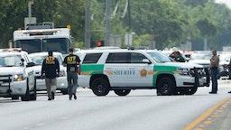 Police Respond To Mass Shooting 2018.