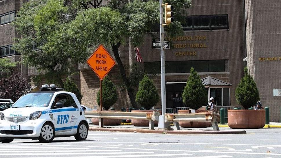 Jeffrey Epstein found dead in prison cell - New York, USA - AUGUST 10